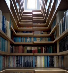escalier-livres